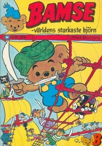 My most expensive issue of Bamse 10/1974.
