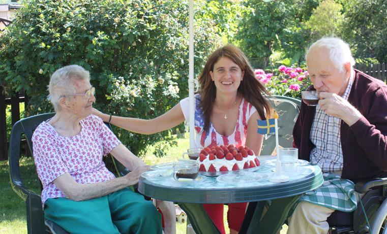 Grandma, Maria, Grandpa