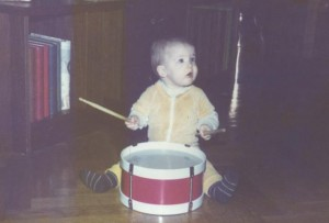 Me playing drums.